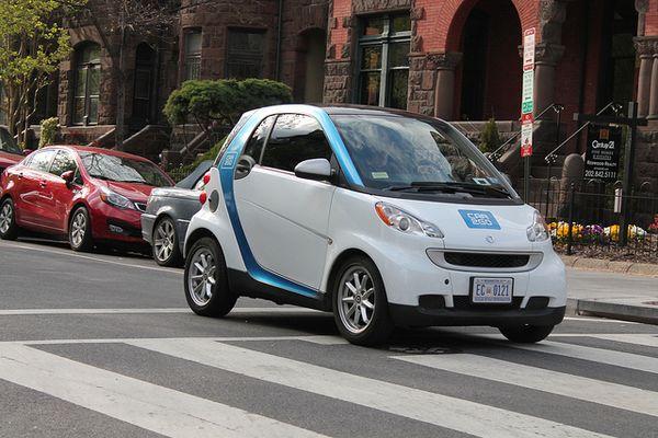 car2go - das Carsharing-Angebot von Daimler und Europcar