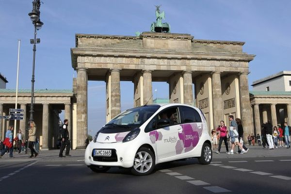 Multicity - das Carsharing-Angebot von Citroën