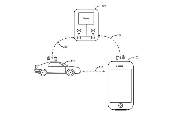 Apple möchte Autos mit iPhone finden, öffnen und starten