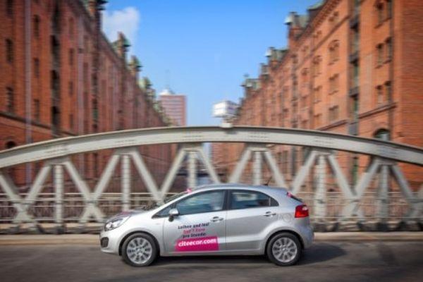 CiteeCar startet sein Carsharing-Angebot in Hamburg