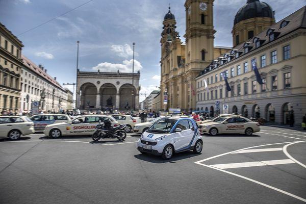 Mia san hier: car2go startet in München