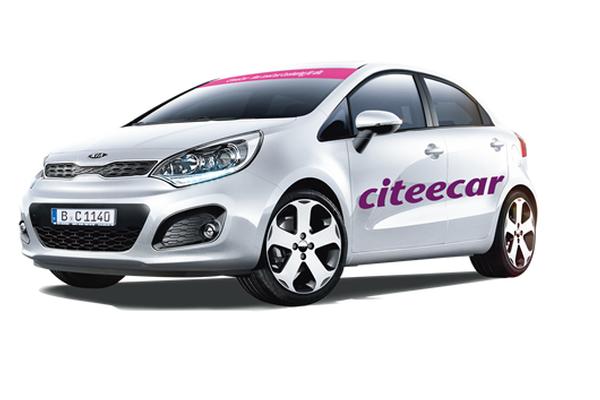 Der Carsharing-Anbieter CiteeCar, Foto: CiteeCar