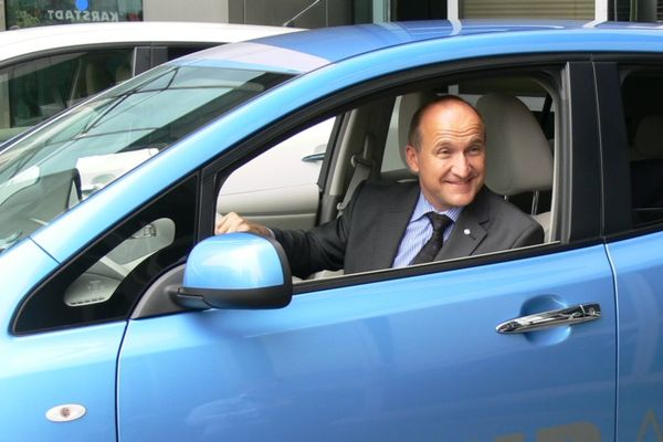 Nissan unterstützt Carsharing-Projekte, möchte jedoch kein eigenes Angebot starten