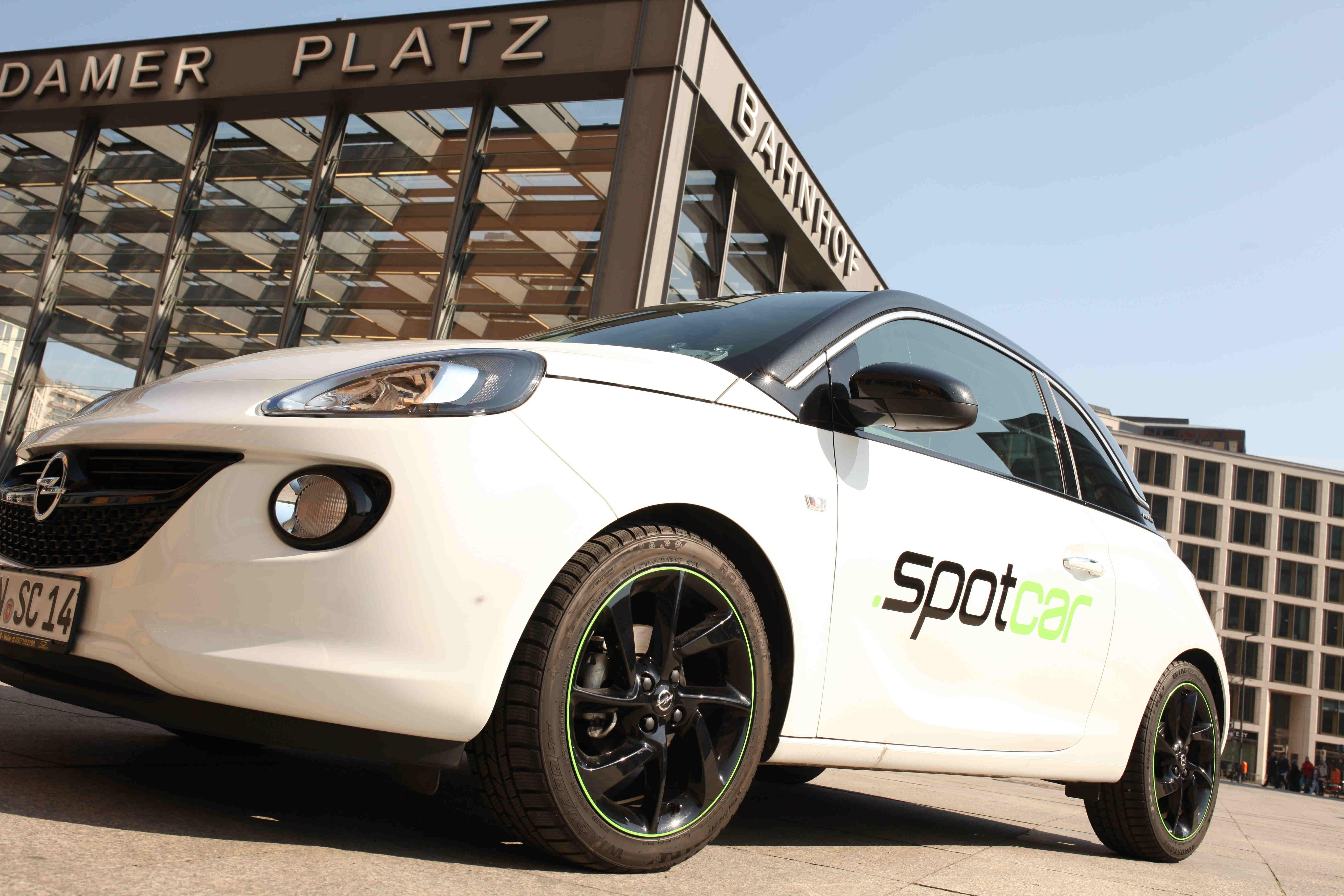 spotcar startet in berlin abrechnung auf kilometer basis. Black Bedroom Furniture Sets. Home Design Ideas