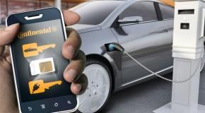 Continental testet digitalen Schlüssel für Carsharing-Fahrzeuge