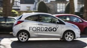 FORD2GO: Ford steigt ins Carsharing-Geschäft ein