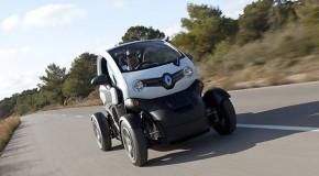 Der Renault-Twizy wird im Carsharing-Projekt RUHRAUTOe eingesetzt