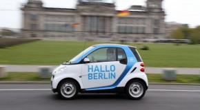 car2go feiert 1-jährigen Geburtstag in Berlin