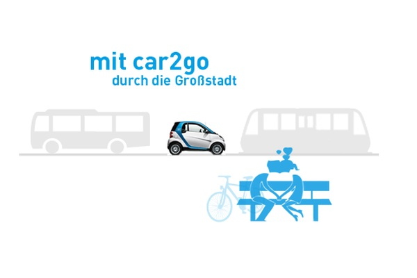 car2go kooperiert mit meinfernbus. Black Bedroom Furniture Sets. Home Design Ideas