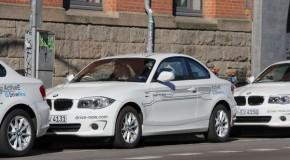 DriveNow erweitert seine Flotte in München um 20 Elektrofahrzeuge BMW ActiveE