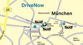 DriveNow erweitert seine Geschäftsgebiete in Düsseldorf, Köln und München