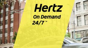 Hertz 24/7 baut sein Carharing-Angebot in den USA weiter aus