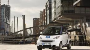 car2go mit erfreulicher Zwischenbilanz in Hamburg
