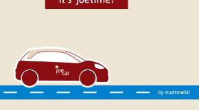 JoeCar: Stadtmobil erweitert sein Angebot und bietet nun auch Free Floating-Carsharing an