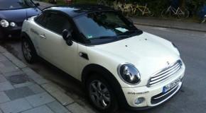 DriveNow erweitert seine Fahrzeugflotte um das MINI Coupe