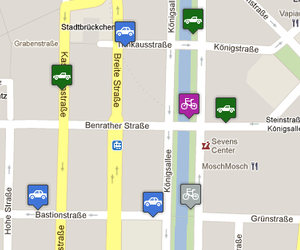 Carsharing Finder