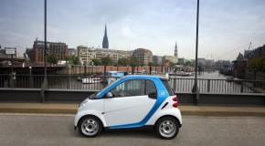 car2go erweitert die Fahrzeugflotte und sein Geschäftsgebiet in Hamburg