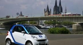 car2go erweitert sein Geschäftsgebiet in Köln