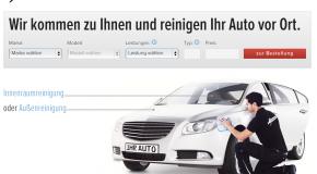 myCleaner reinigt nicht nur Carsharing-Fahrzeuge