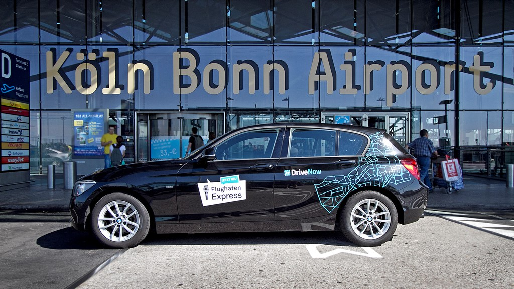 drivenow jetzt auch am flughafen k ln bonn carsharing blog. Black Bedroom Furniture Sets. Home Design Ideas
