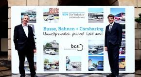 Öffentlicher Nahverkehr und Carsharing für den Klimaschutz