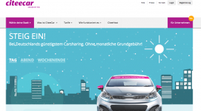 CiteeCar bringt Carsharing ohne Grundgebühr