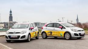 CiteeCar bringt mit der Deutschen Post AG Werbung aufs Auto