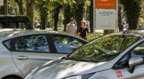 cambio Fahrzeuge sind pro Tag 6 bis 12 Stunden unterwegs