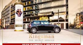 DriveNow Aktion zum Start von KINGSMAN: THE SECRET SERVICE