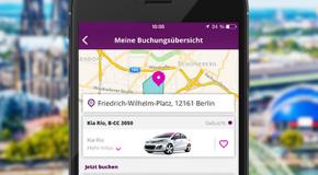 CiteeCar überarbeitet App