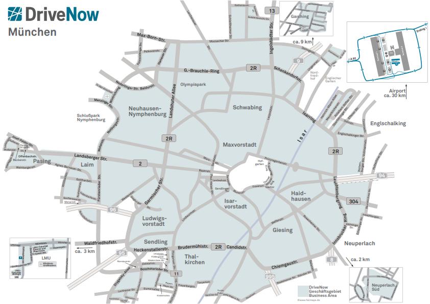 Drivenow Erweitert Geschaftsgebiet In Munchen