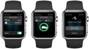 Carsharing kommt auf die Smartwatch