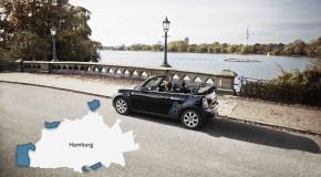 DriveNow erweitert Geschäftsgebiet in Hamburg