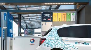 DriveNow bringt Digitale Tankkarte bei TOTAL in Berlin