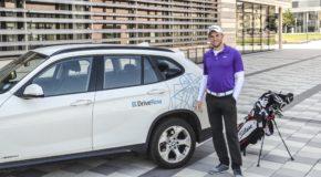 Mit DriveNow zu den BMW International Open