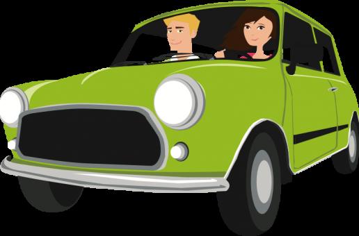 Fast wie Carsharing, die Flinc-App für Mitfahrer